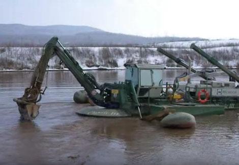 очистка прудов Watermaster