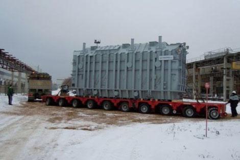 транспортировка трансформаторов санкт-петербург