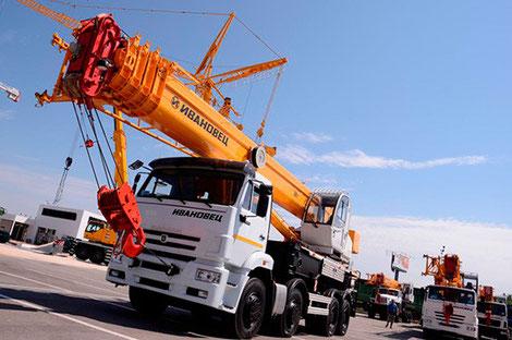 заказ автокрана 40 тонн