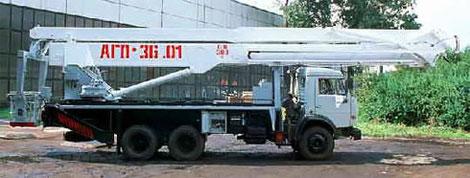 автовышка 36 м