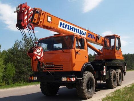 автокран 20 тонн