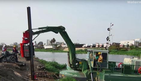 устройство плотин Watermaster