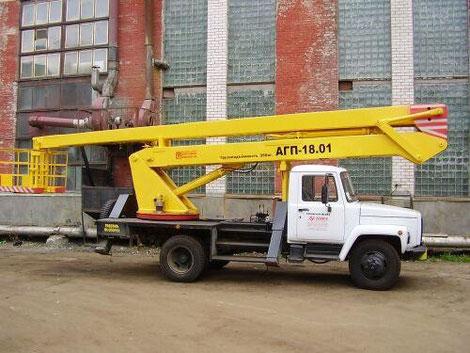 автовышка 18 метров в Санкт-Петербурге