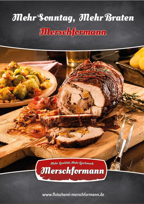 Imageplakat Sonntagsbraten
