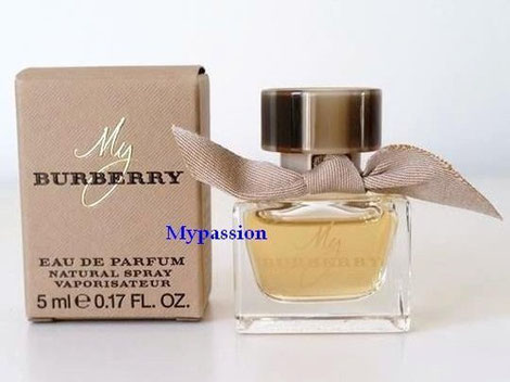 BURBERRY - MY BURBERRY :  EAU DE PARFUM 5 ML