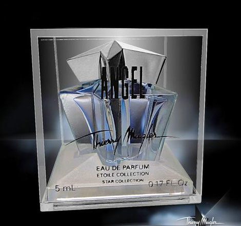 ANGEL - EAU DE PARFUM ETOILE COLLECTION - EAU DE PARFUM 5 ML - BOÎTE PLEXIGLASS DIFFERENTE