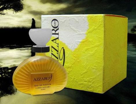 AZZARO 9 - MINIATURE EAU DE PARFUM 5 ML - MINIATURE EN VERRE DEPOLI