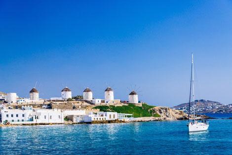 Segeltörn mit Skipper Athen Kykladen, Mitsegelreise Peleponnes, Yachtsegeln mit Skipper Lavrion