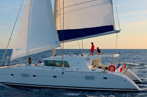 Katamaran Segeltörn mit Skipper Lefkas, Mitsegelreise Ionische Inseln, Segeltörn mit Skipper Griechenland