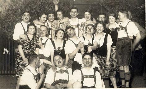 Alpenverein Schweinfurt, 14. Januar 1928