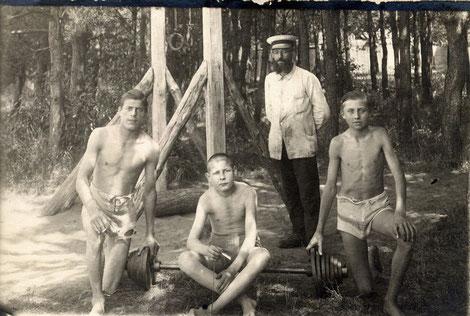 Naturheilverein Schweinfurt (Licht u. Luftbad), vor 1923, Aufsicht Otto Winter