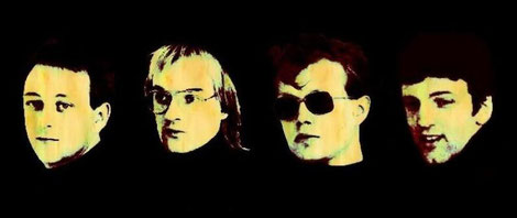 Die vier kreativen Köpfe der Band Elegant