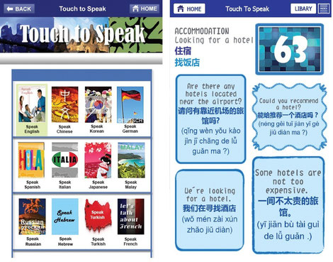 Touch and Speak Klicken und Sprechen Sprachen lernen