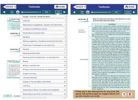 Lernkurse zum Englischlernen mit Vertonungen und Sprachlabor
