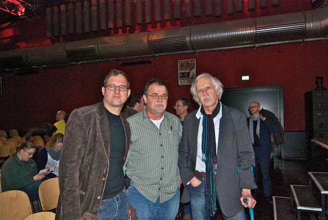 v.l. Reiner J. Nagel, Bernd Herrmann, Konrad Herrmann