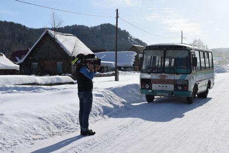 Für viele das einzige Transportmittel - der Bus