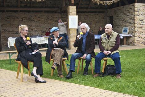 v.l. Cosima Stracke-Nawka, Jurij Koch, Konrad Herrmann, Lutz Körner