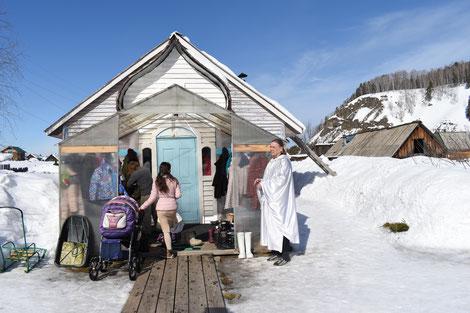 In dieser Region gibt es eine sehr junge Kirche. Ihr Prophet lebt unweit von Scheremschanka. Immer mehr Menschen aus ganz Russland  werden von seiner Lehre angezogen.