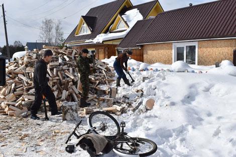 der nächste Winter kommt und die Temperaturen fallen regelmäßig auf minus 50Grad