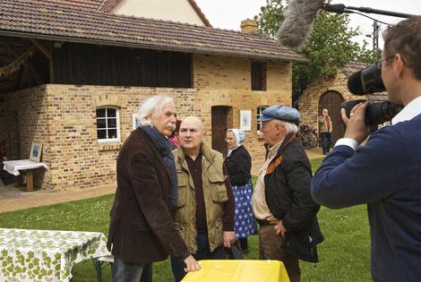 v.l. Konrad Herrmann, Lutz Körner, Jurij Koch