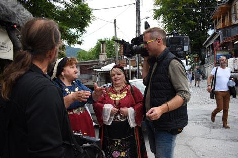 beim Festival der diversen aromunischen Stämme