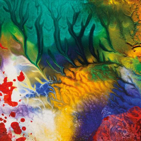 Kunstwerk DAYS' GOLD III auf ARTS IV als Acrylglas- oder Schattenfugenrahmen-Druck bestellen
