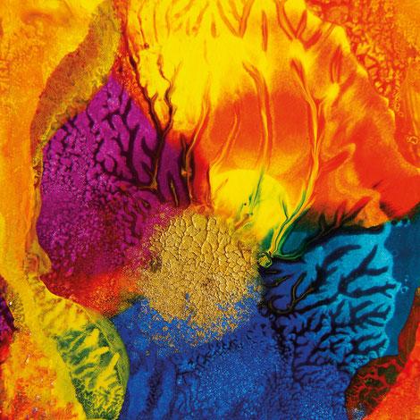 Kunstwerk DAYS' GOLD I auf ARTS IV als Acrylglas- oder Schattenfugenrahmen-Druck bestellen