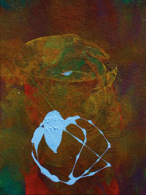 Kunstwerk CHROMATOPELMA CYANEOPUBESCENS, FEEDING auf ARTS IV als Acrylglas- oder Schattenfugenrahmen-Druck bestellen