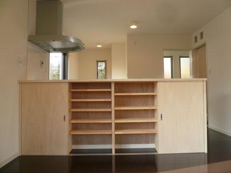 キッチン カウンター収納