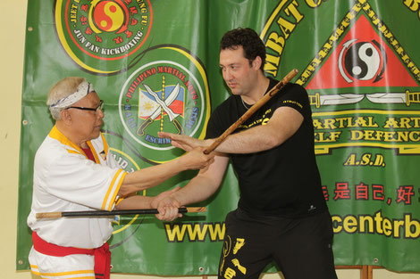 Stage di Doce Pares con G. M. Dionisio Canete