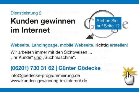 """Mit 1 Klick... zum Thema """"Kunden gewinnen mit dem eigenen Internetauftritt!"""" (inklusive 20 Branchenlösungen, Tipps, uvm.)"""