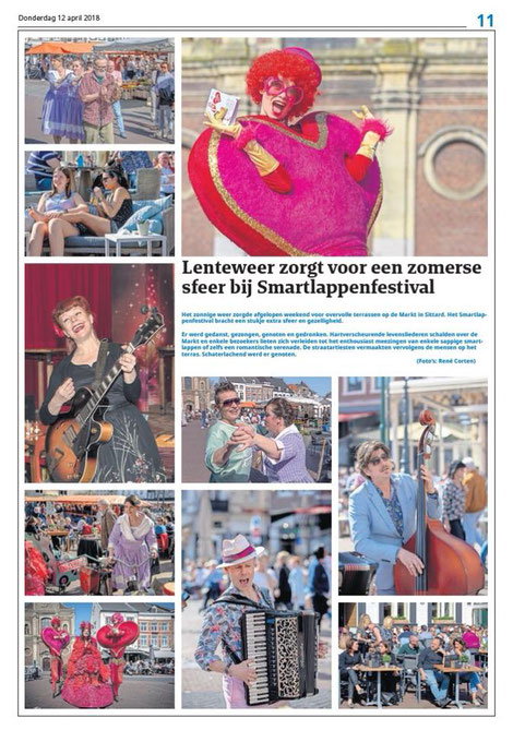 Artikel Via Smartlappenfestival Sittard 2018