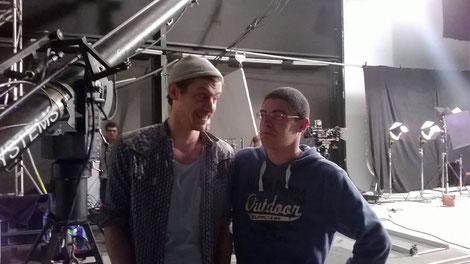 Tournage #1 - Avec le réalisateur !