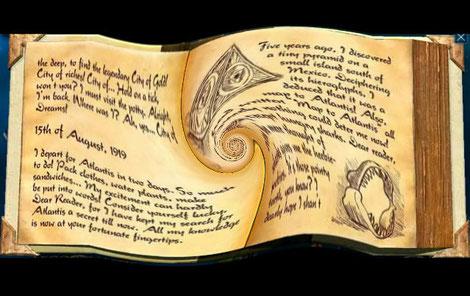 Un livre d'or captivant !