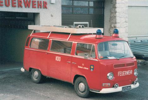 Bild unseres alten Kommandofahrzeugs