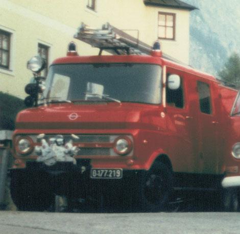 Bild mit dem Vorgänger unseres Tankwagens: Ein Opel Blitz