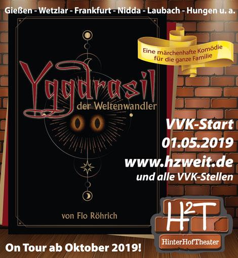 Yggdrasil der Weltenwandler- das neue Stück vom HinterHofTheater 2019