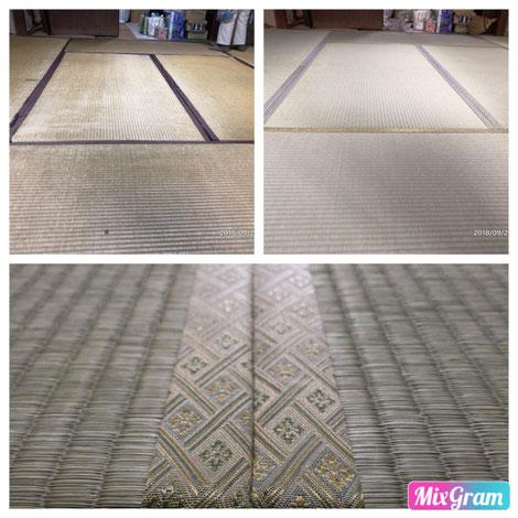 横浜市港南区の畳店 内藤畳店 新素材の畳床を使用した畳替えの施工例