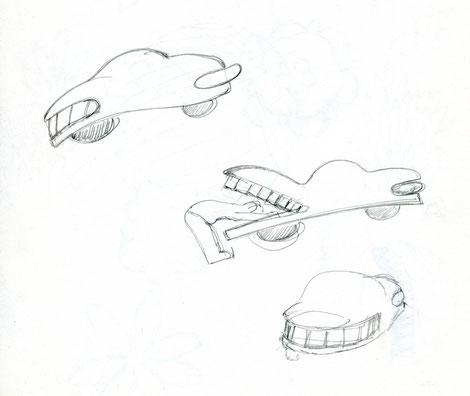 skizze autos