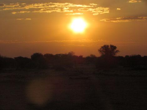 Sonnenuntergang auf Kuzikus