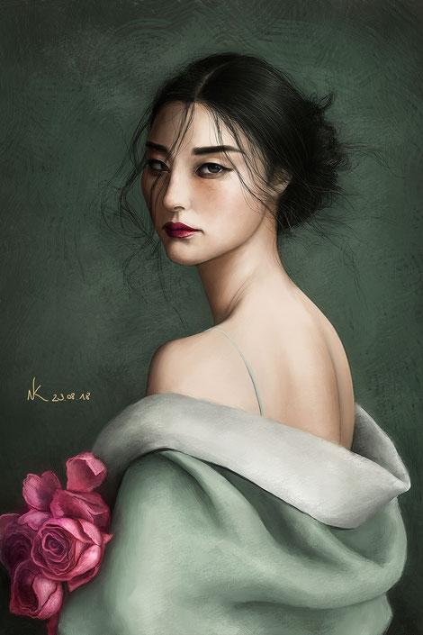 Noemi Kramer Amimik digital painting zemotion jingna zhang