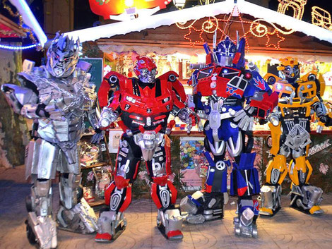 transformers , france , animation , hasbro , show, magasin, centre commercial , foire , salon , parade