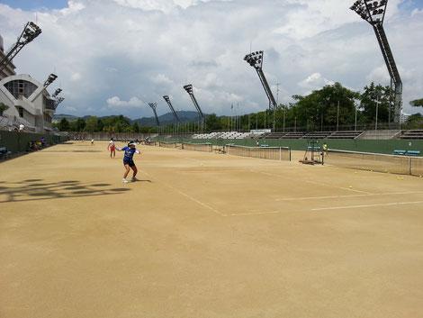 広島市中央庭球場