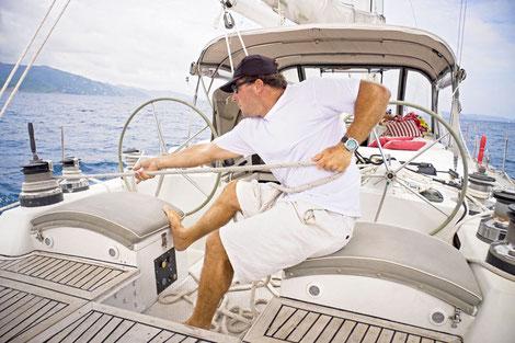 Yachtcharter mit Skipper Griechenland Athen Cyclades