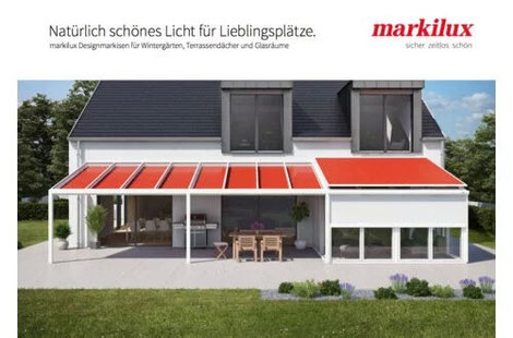 Markilux Markisen Wintergartenmarkisen Unterglasmarkisen