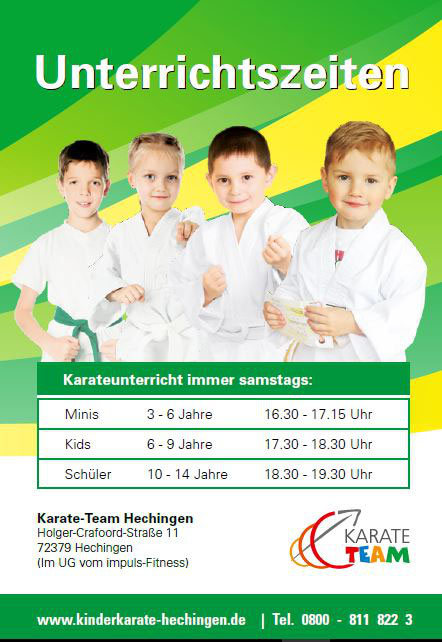 Kinderkarate Hechingen