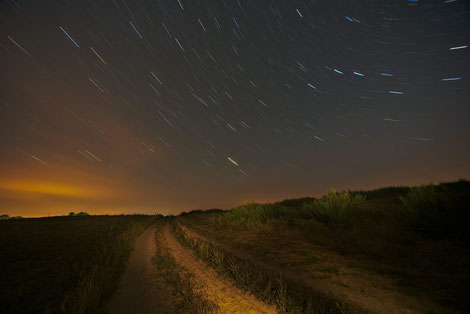 Night Photography Star Trails