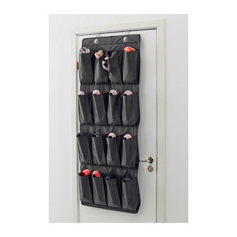 Organizador de puerta para zapatos de IKEA - www.AorganiZarte.com