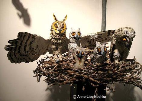 moyen-ducs, sculpture Anne-Lise Koehler
