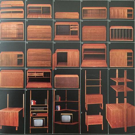 CADO System Wall Unit | teak Poul Cadovius for Cado, Denmark - 1960s